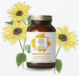 Pure Synergy Super B-Complex  B Vitamin Made w/Organic Fruit