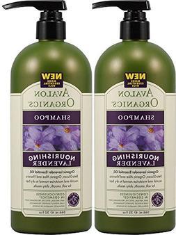 Avalon Organics Shampoo, Lavender, 32 Ounce