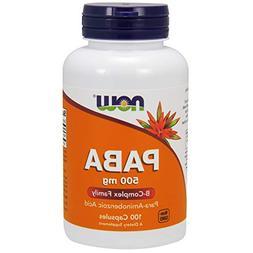 Paba 500 mg 150 Capsules