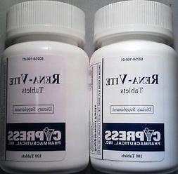 Cypress Pharma Rena-Vite Vitamin B Complex Supplement Tablet
