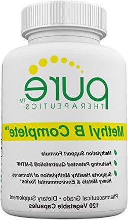 Methyl B Complete - 120 Vegetable Capsules   Optimal Methyla