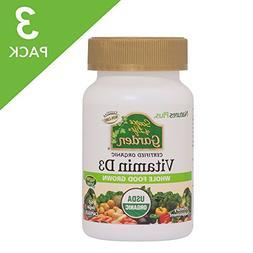 Natures Plus Source of Life Garden Organic Vitamin D3   - 50