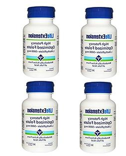 Life Extension High Potency Optimized Folate L-Methylfolate