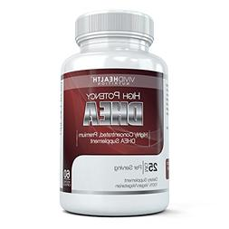 Vivid Health Nutrition 25 mg High Potency Pharmaceutical Gra