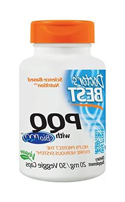 Doctor's Best PQQ with BioPQQ, Non-GMO, Vegan, Gluten Free,