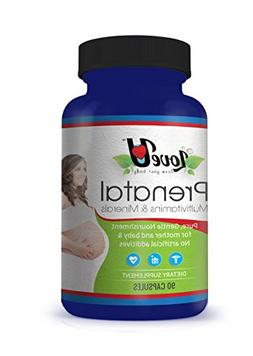 loveuloveyourbody #1 Prenatal Vitamins For Men and Women Bec
