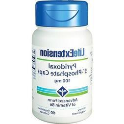 Life Extension Pyridoxal 5'-Phosphate Caps -- 100 mg - 60 Ve