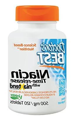 Real Niacin  500 mg 120 Tabs