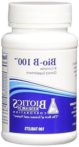 Biotics Research Bio-B 100 -- 180 Tablets by Biotics Researc