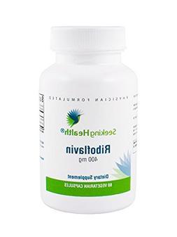 Riboflavin | 60 Vegetarian Capsules | Seeking Health | 400 m