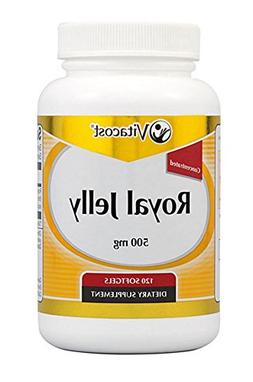 Vitacost Royal Jelly Concentrated -- 500 mg - 120 Softgels