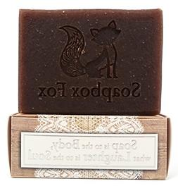 Sandalwood Vanilla - Gentle Exfoliating Shea Butter Soap w/N