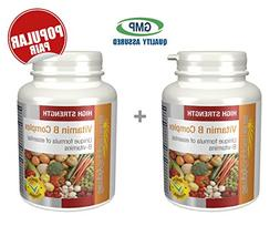 Simply Supplements Vitamin B Complex Bundle Deal 240 Tablets
