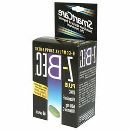 Z-Bec Smart Care B-Complex Supplement, Caplets, 60 ct.