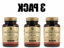 Solgar, Sublingual Methylcobalamin , 3 PACK, 1000 mcg, 60 Nu