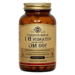 Solgar Vitamin B1  500mg - 100 Tablets