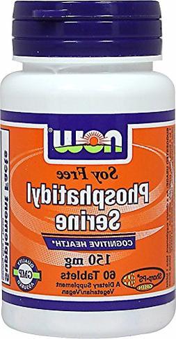 NOW Foods Soy Free Phosphatidyl Serine 150mg-60 Tablets