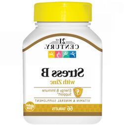 Stress Vitamin B with Zinc 66 Tabs