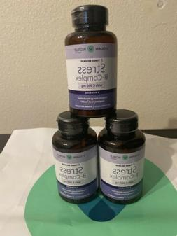 Vitamin World Stress B-Complex with C-500mg Supports Energy