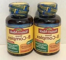 Nature Made Stress B Complex With C And Zinc 80 Tablets Exp.