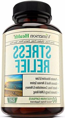 Stress Relief & Anti Anxiety Supplement - Natural Herbal Ble