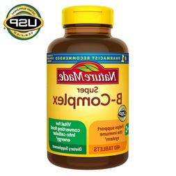 Nature Made Super B-Complex 460 Tablets with Vitamin C & Fol