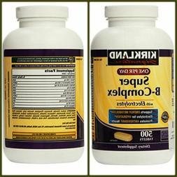 SUPER B COMPLEX Tablet With Electrolytes One Per Day 500CT K