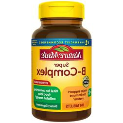 Nature Made Super B-Complex w/ Vitamin C, Folic Acid, Thiami