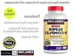 Super B-Complex with Electrolytes Kirkland Signature Vitamin