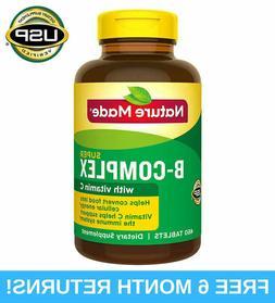 Nature Made Super B-Complex with Vitamin C & Folic Acid 460