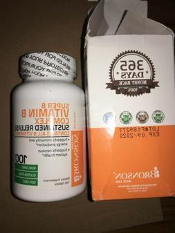 Bronson - Super B Vitamin B Complex Complex Sustained Releas