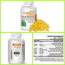 Super B VITAMIN B COMPLEX Contains All B Vitamins 250 Tablet