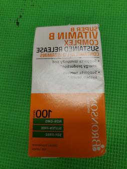 Bronson - Super B Vitamin B Complex Sustained Release 100 Ta