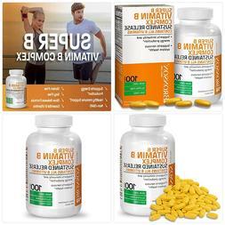 Bronson Super B Vitamin B Complex Sustained Slow Release (Vi