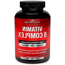 Super B2 Riboflavin B Complex Vitamins - ALL Including B12,