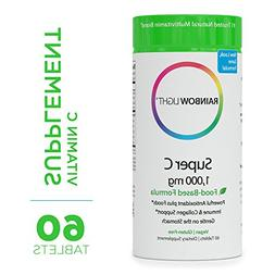 Rainbow Light - Super C 1,000 mg - Food-based, High Potency,