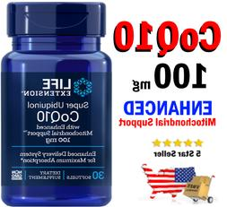 Life Extension Super Ubiquinol CoQ10 -- 100 mg - 60 Softgels