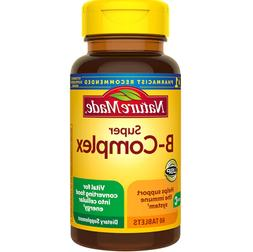 Nature Made Super Vitamin B Complex With Vitamin C 60 Tablet