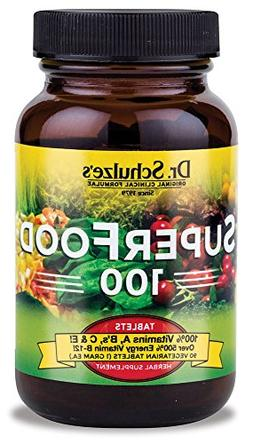Dr. Schulze's SuperFood 100 Vitamin and Mineral Herbal Suppl