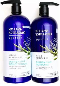 Avalon Organics Therapy Biotin B-Complex Shampoo + Condition