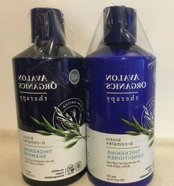 thickening shampoo conditioner biotin b complex therapy