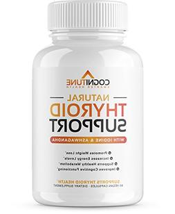 Thyroid Support Complex with Iodine - Premium Energy, Metabo