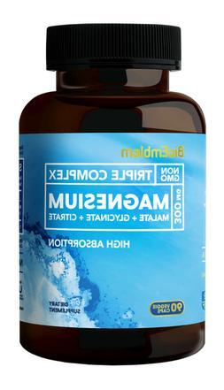 Triple Magnesium Complex Magnesium Glycinate/Citrate for Mus