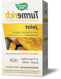 Nature's Way Turmerich Advanced Turmeric Formula for Joint &