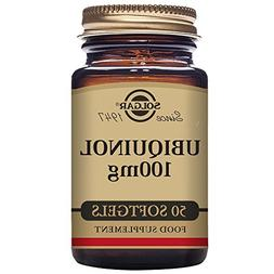 Solgar – Ubiquinol with Reduced CoQ-10 100 mg, 50 Softgels