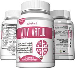 Ultra Vita Women's Multivitamin with Calcium, Multi-Mineral