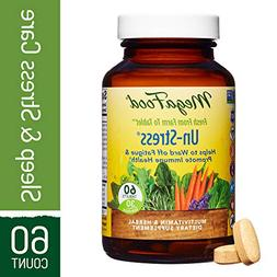 MegaFood - B-UnStressed, Multivitamin and Herbal Support for
