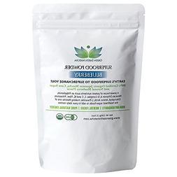 USDA Organic SUPERFOOD Powder, Blueberry Matcha Green Tea Po