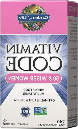 Garden of Life Multivitamin for Women - Vitamin Code 50 & Wi