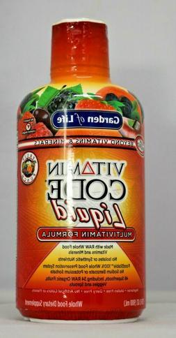 Garden of Life Multivitamin - Vitamin Code Liquid Raw Whole